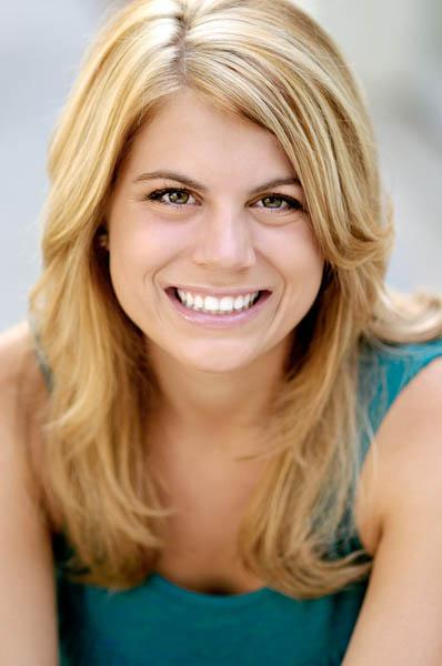 smiling actor commercial headshot